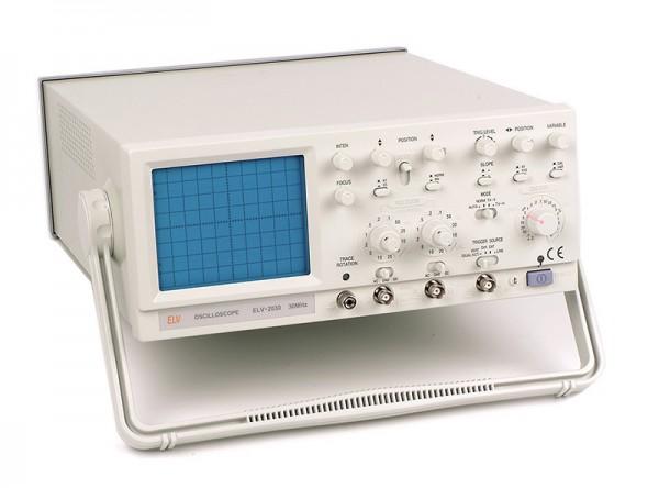 Oszilloskop, Zweikanal, 30 MHz
