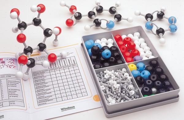 MOLYMOD Molekülbaukasten, Struktur der DNA - Basen