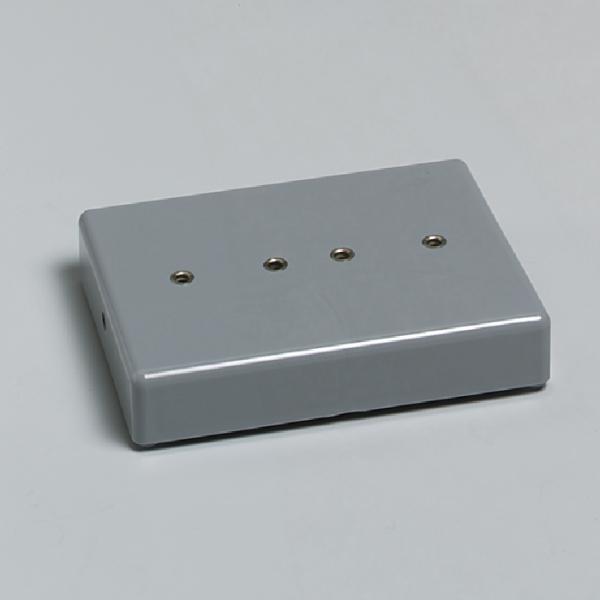 Stecksockel für 19-mm-Steckelemente