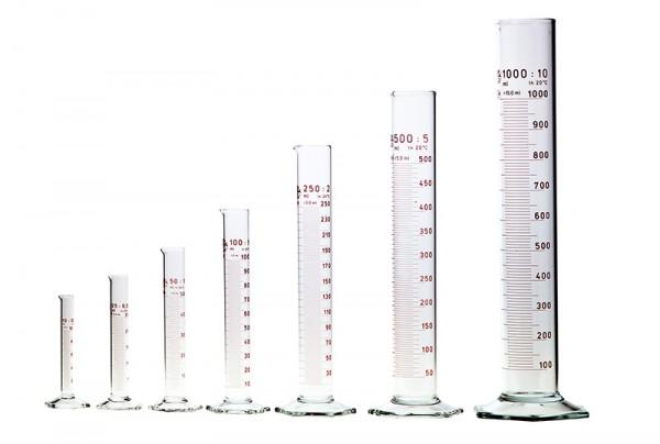 Messzylinder aus Borosilikatglas 3.3