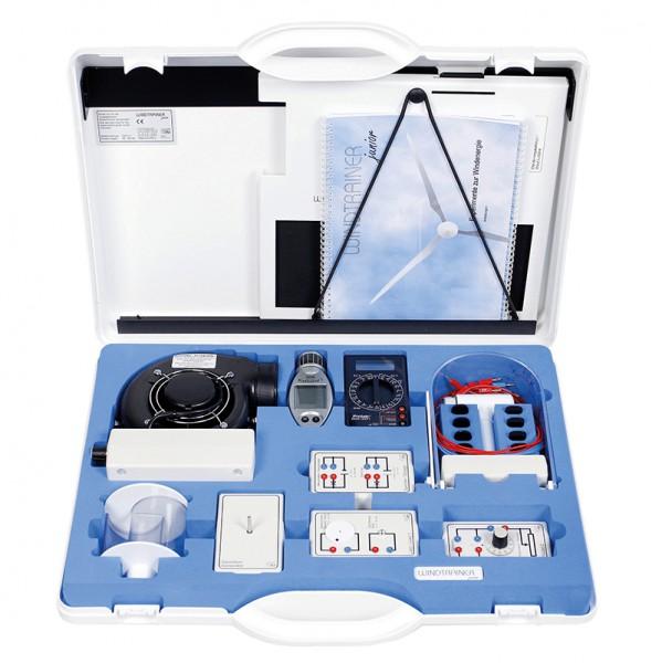 Windenergie-Experimentiersystem im Kofferset, Windtrainer