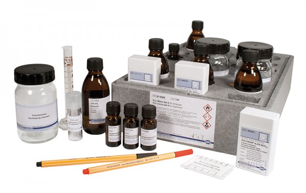 Ergänzungsteile zu TLC Mikro-Set F2 814381430: Cholesterin-Vergleichslösung