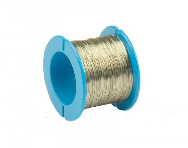 Konstantandraht, D = 0,2 mm, Rolle, blau