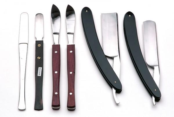 Rasiermesser, Schneide 80 mm, flach/hohl