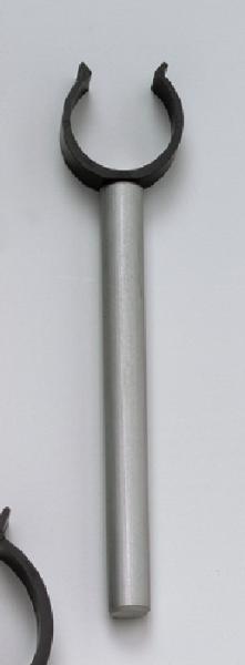 Halteclip, 25 mm Ø, am Stab