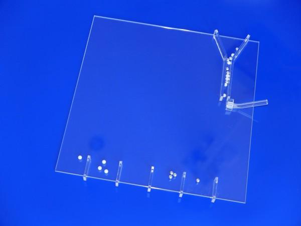 Modellexperiment zur Massenspektrographie