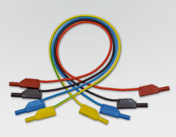 Sicherheits-Experimentierkabel, blau, 50 cm