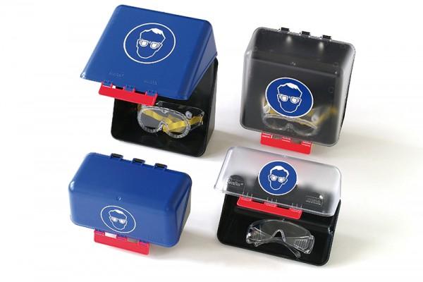Aufbewahrungsbox-Mini für Schutzbrillen transparent (236x120x120 mm)