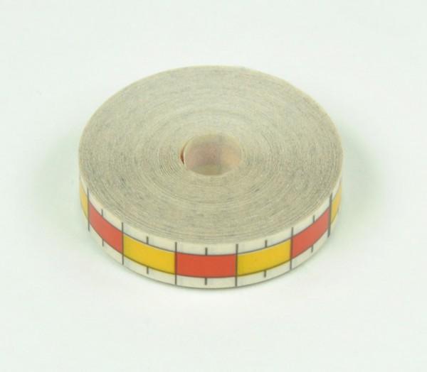 Maßband, weiß, B=10 mm