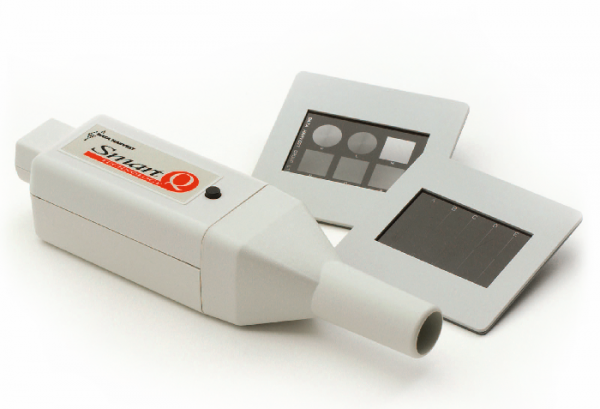 Laser im Sensorgehäuse, mit optischen Spalten und Gittern