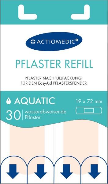 30x Ersatzpflaster Aquatic für EasyAid Pflasterspender