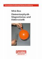 "Versuchsanleitung ""Mini-Box Magnetismus/Elektrostatik"""