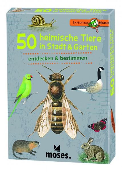 50 heimische Tiere in Stadt und Garten