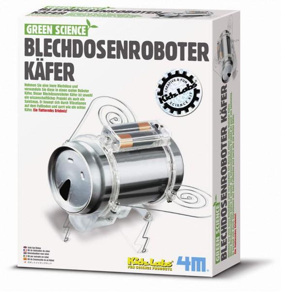Green Science - Blechdosenroboter Käfer