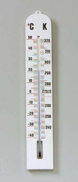 Celsius-Kelvin-Thermometer, –40/+50 °C