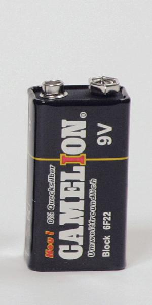 Blockbatterie, 9 V