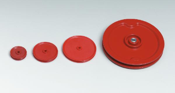 Rolle, Kunststoff, 58 mm Ø