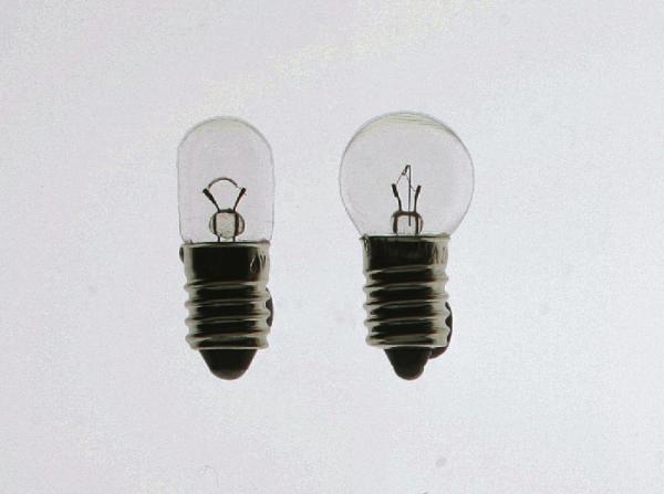 Packung Glühlampen, E10/2,5 V/0,1 A, klar