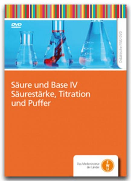 DVD - Säure und Base IV - Säurestärke, Titration und Puffer