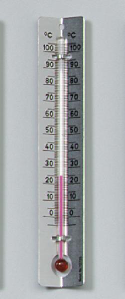 Thermometer mit Metallskala, –3/+103 °C