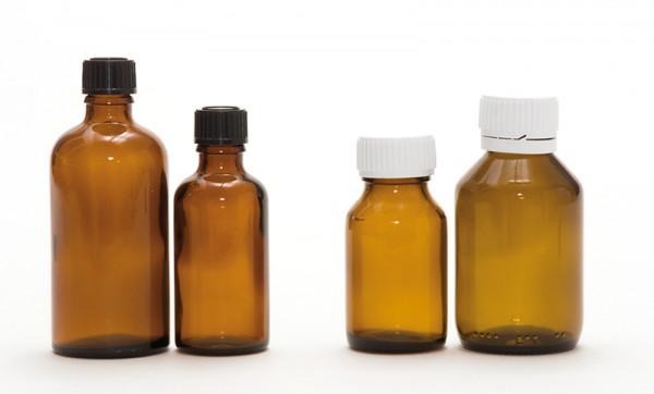 Reagenzienflasche mit Spezialverschluss