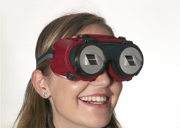 Umkehrbrille - Prismenbrille