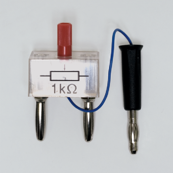 Stellwiderstand auf Steckelement, 1 k?, mit Spannungsteiler