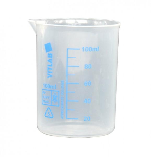 Becherglas 100 ml, KS, mit Ausguß