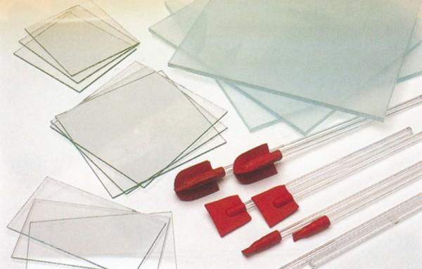 Glasplatte aus Mattglas