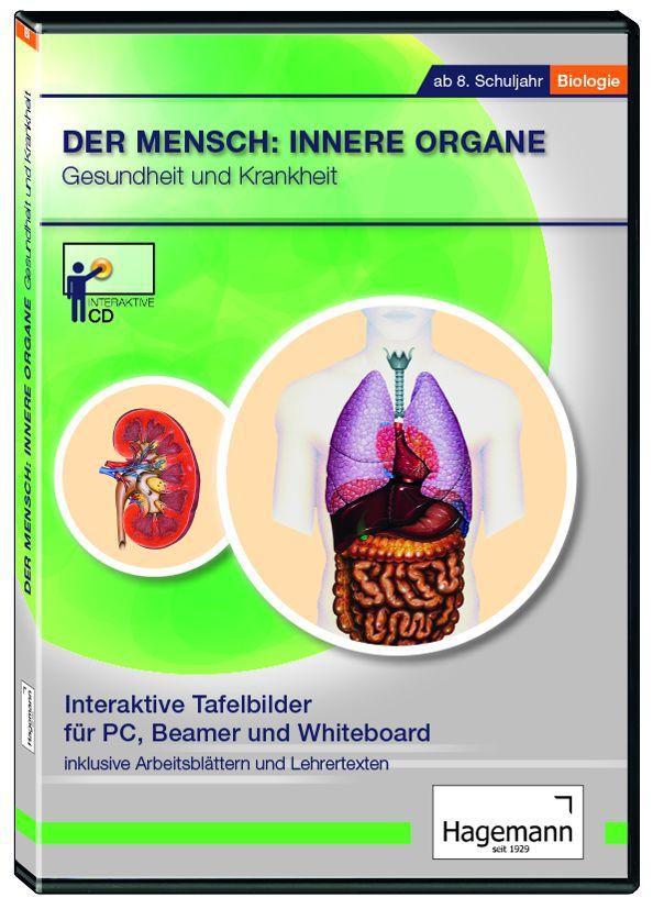 Interaktives Tafelbild: Der Mensch: Innere Organe: Gesundheit und ...