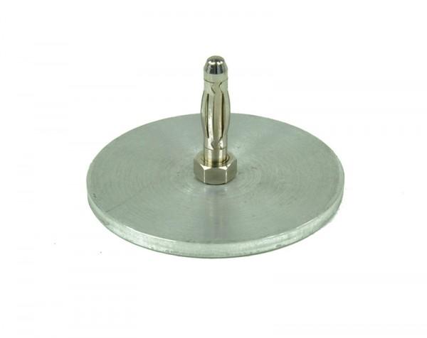 Kondensatorplatte klein auf Stecker
