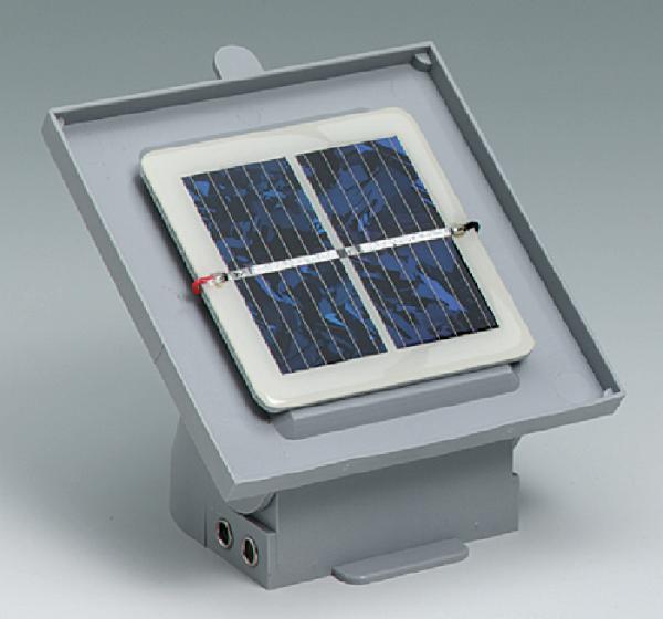 Solarmodul, 1,0 V/0,3 A, auf Kippsockel