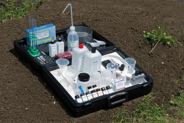CaCl² Lösung als Nachfüllpack für 300 Bodenproben