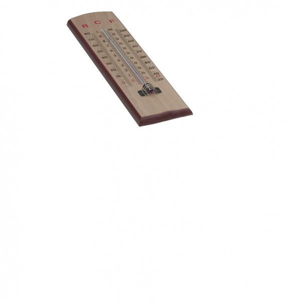 Wandthermometer, in °C, °R, °F (0-100 °C)