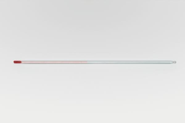 Thermometer, ungraduiert, mit roter Füllung