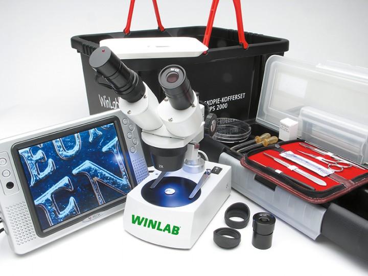 mikroskop set hps 2000 usb mit usb kamera. Black Bedroom Furniture Sets. Home Design Ideas
